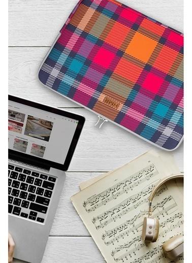 Hamur Easy Case 15 inç Laptop Çantası Notebook Kılıfı Coline New Renkli